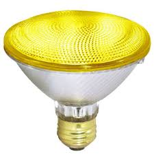 philips 202325 8 97 100par y 100w par38 parabolic flood yellow