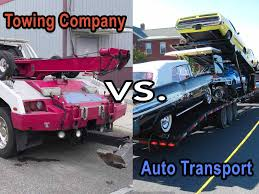 100 Auto Truck Transport Difference Between A Towing Company And An Company