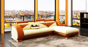 Leather Sofa Living Room Ideas by Orange Leather Sofa U2013 Helpformycredit Com