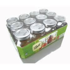 Ace Hardware Christmas Tree Storage by Ball 16oz Regular Mouth Mason Jars 61000 12 Pack View All