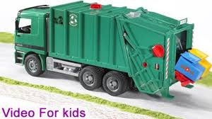 100 Rubbish Truck Garbage Trucks For Children Trash Truck Videos Trucks