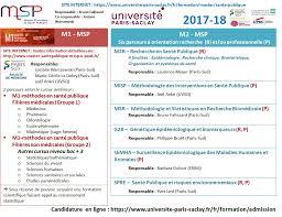 santé publique université saclay