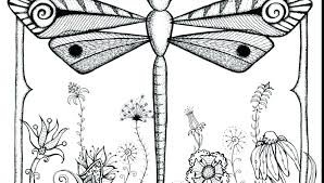 Dragonfly Coloring Pages Page Free Printable Ic Simple Awesome On Book