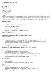Call Center Skills Resume Inbound Job Description For Sample