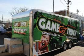Game Truck Trailer Wrap - Chief Graphix Game On Tylers Video Truck Party Plus A Minecraft Freebie Maryland Therultimate Rolling Party In The Towns And Ultimate Room Mr Columbus Ohio Mobile Laser Vault Perth Parties Kids Bus Gametruck Middlebury Booked Los Angeles Tag Birthday Tough Science The Changer Obstacle Course F150 Best Birthday Is Rock Our Cary North Carolina