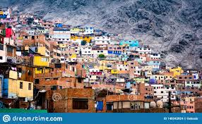 100 Houses For Sale In Lima Peru Slum Buildings Stock Photo Image Of Housing