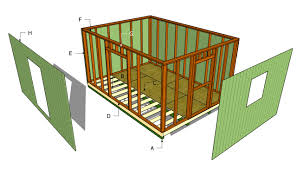 Slant Roof Shed Plans Free by Large Shed Plans Myoutdoorplans Free Woodworking Plans And