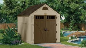 497 cu ft brookland 7 x 10 storage shed suncast corporation