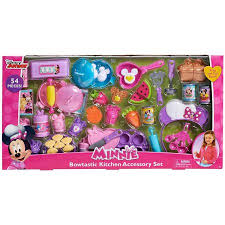 Play Kitchen Sets Walmart by Minnie Bow Tique Bowtastic Kitchen Accessory Set Walmart Com