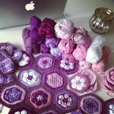 123 best Crochet African Flowers images on Pinterest