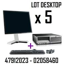 destockage ordinateur de bureau destockage ordinateur bureau 325 000 f cfa ataguiz
