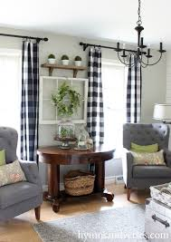 Curtain Ideas For Living Room by Best 25 Plaid Curtains Ideas On Pinterest Gingham Curtains