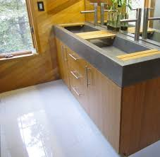 Trough Sink With Two Faucets by Bathrooms Design Trough Sink Double Faucet Vanity Bathroom With