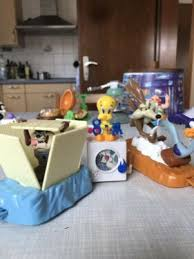mcdonalds spielzeug 3 spielfiguren looney tunes set 90er
