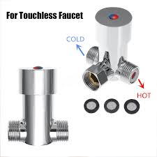 Touchless Bathroom Faucet With Temperature Control by Cold Water Valve Faucet Temperature Control Thermostatic Mixer