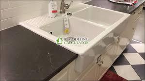 Ikea Domsjo Double Sink Cabinet by Kitchen Rooms Ideas Amazing Ikea Kitchen Sink Plumbing Domsjo
