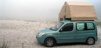 Small Campers The Citroen Berlingo With A Roof Tent Is Merely One Of Examples
