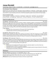 civil engineer sle resume 6 ideas collection