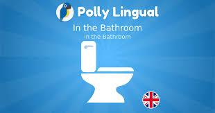 im badezimmer in the bathroom englisch lernen mit polly