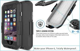 Best iPhone 6 waterproof cases for under water for selfie