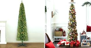 Michaels Fake Trees Lit 7 Foot Pencil Artificial Tree Only Shipped Regularly More Cashmere Indoor