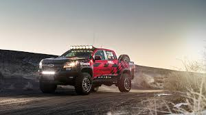 Chevrolet Colorado Zr2 Concept Ready For Dirt And Possibly ...