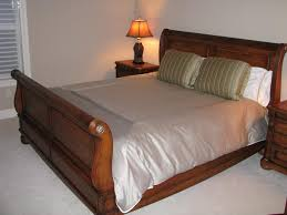Bedroom Upholstered King Bed Frame