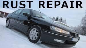 Peugeot 406 V6 Rocker Panel Rust Repair
