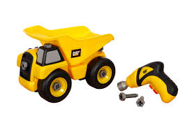 Amazon.com: Toy State Caterpillar Construction Take-A-Part Trucks ... Cat Big Rev Up Machine Dump Truck Toy At Mighty Ape Nz Tough Tracks Cstruction Crew Sand Set Amazoncom State Caterpillar Takeapart Trucks Express Train With Machines Toys 36 Piece Kids Shaped Floor Puzzle Nr16n Reach Yellow Norscot 55242 125 Scale Luxurious Cat Cement For Sale 15 Remote Control Toystate Job Site By Revup Vintage Ls Buy Mini Cars Of