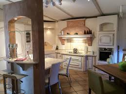 cuisine bois blanchi cuisine bois massif patiné soldé cuisines vente et pose de cuisine