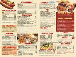 Tommys Patio Cafe Menu by Tommy U0027s On Grand Menu U2013 Tommys On Grand