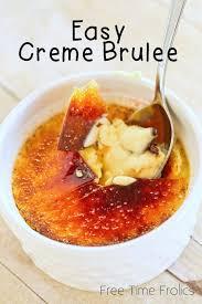 easy creme brulee recipe