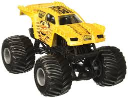 100 Discount Truck Wheels Hot Monster Jam MaxD Vehicle Gold 124 Scale Bulk Discount