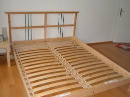 ikea king size 5ft wide slatted bed frame ikea sultan norrsken