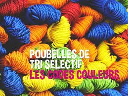poubelle de bureau tri selectif poubelles de tri sélectif les codes couleurs happyloop