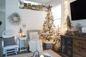 4ft Christmas Tree Walmart by A Farmhouse Christmas Home Tour Mrs Rollman Blog