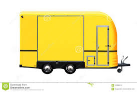 100 Food Truck Sales 3D Illustration Of Yellow Stock Illustration