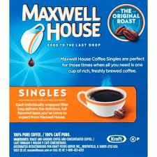 Maxwell House Coffee Flavors