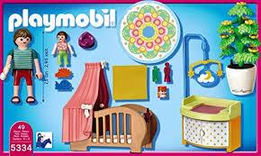 playmobil chambre bébé chambre de bébé avec berceau sets divers 5334