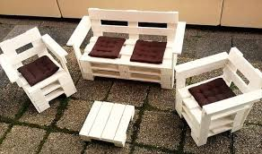 Pallet Patio Furniture Plans by Upcycled Pallet Double Chair Bench