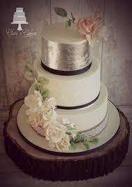 Stunning Rustic 3 Tier Wedding Cake