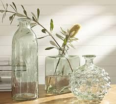Canela Recycled Glass Vases