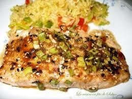 cuisiner filet de saumon filet de saumon asiatique au miel et citron recette ptitchef