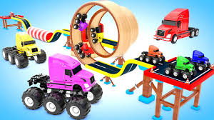 Colors For Children To Learning With Big Trucks Color Change In ... Learning To Count In Spanish Counting Big Trucks For Children Youtube Lifted Used Semi Sale Tampa Fl Hpi Savage X46 With Proline Big Joe Monster Trucks Tires Youtube Unexpected Splash Share The Road With Kids Truck Video Monster How Draw A Cool And Awesome Rigs Show Low Bridge Satisfying Schanfreude Transport Cars For Trucks Youtube Bigfoot Guinness World Records Longest Ramp Jump Chrome Shop Mafia 2019 Calendar Shoot Scotts Semi
