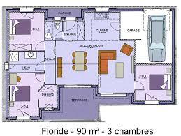 maison plain pied 5 chambres plan de maison plain pied 5 chambres 2 mod232le et plans