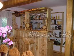 esszimmer rustikal holz möbel aus massivholz