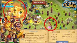 Castle Clash Pumpkin Duke Best Traits by Anubis Augmented With 2 5 Pyremage Enhancement Castle Clash