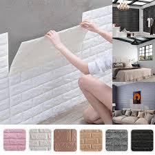 dekoration 3d ziegel wand panels schälen und stick klebstoff tapete für wohnzimmer schlafzimmer hintergrund küche dekoration neue