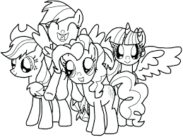 Mlp Coloring Pages Printable Page 2 By My Little Pony Pinkie