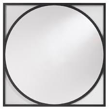 casa padrino luxus wandspiegel schwarz 90 x h 90 cm wohnzimmer spiegel garderoben spiegel luxus kollektion